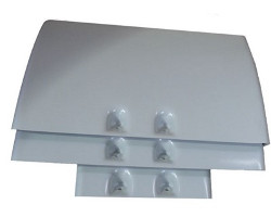 Fiamma Kit Roof Rail Ducato Cover Grey - Right