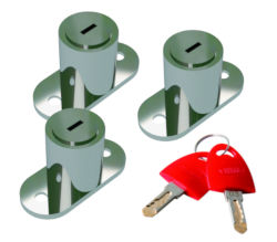 Fiamma Safe Door Lock and Key Set - Pack of 3