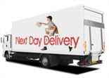 Agent-Fiamma next day delivery service as standard
