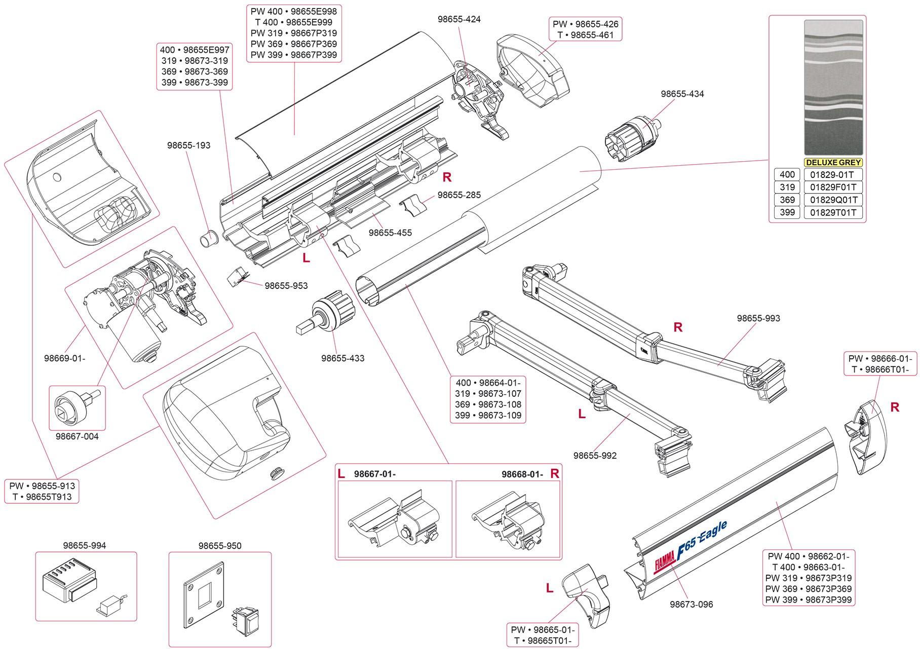 Fiamma awnings, Fiamma Bike Rack and Fiamma Ultra-Box for ...